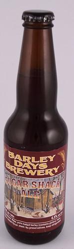 Barley Days Brewery - Sugar Shack Ale