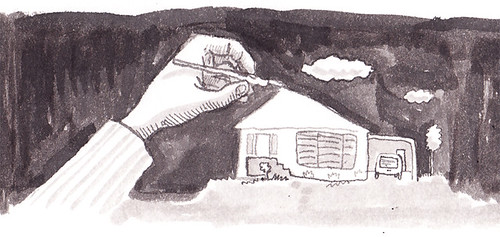 Illustration Friday: Shaky