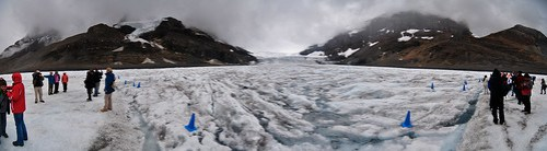 Athabasca Glacier - Panorama