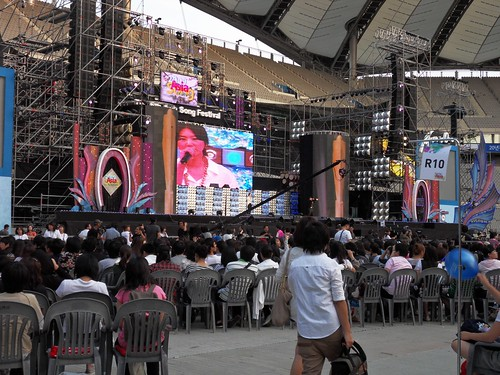 View of the stage at Asia Song Festival