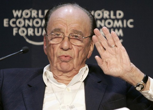 Rupert Murdoch at the World Economic Forum