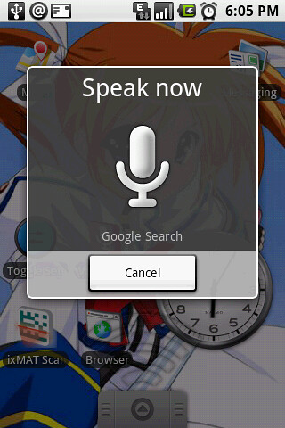 Voice Search on Android