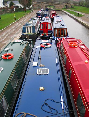 Canal boats, Pontcysyllte