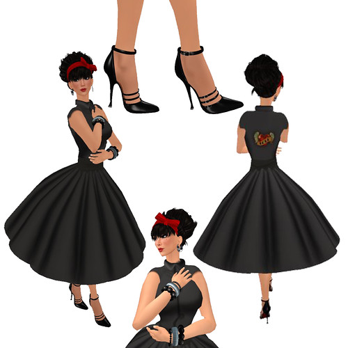 Aisling Rockabilly Outfit Composite 2 - Click picture for full outfit details
