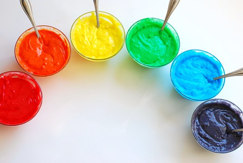 how to: rainbow cake!