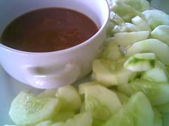 Bandong's ulam timun
