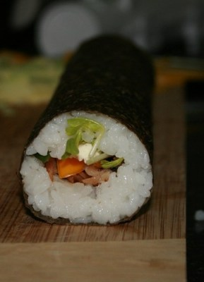 Homemade Sushi Roll by you.