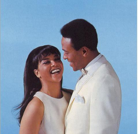 Marvin Gaye and Tammi Terrell