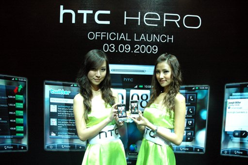 HTC HERO Models 01