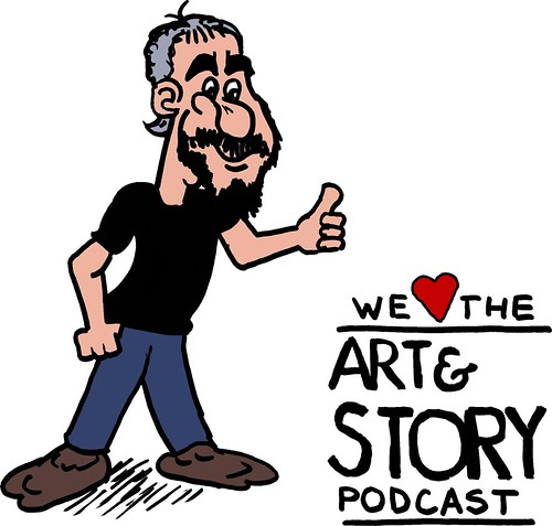 We love the Art and Story podcast