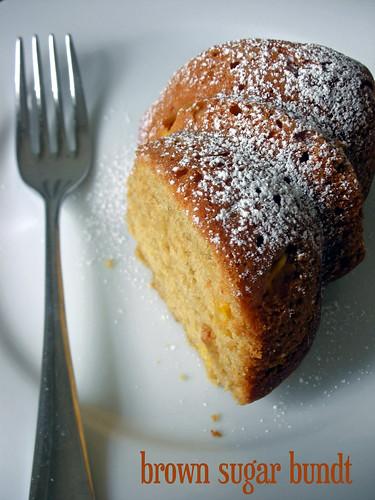 brown sugar bundt cake