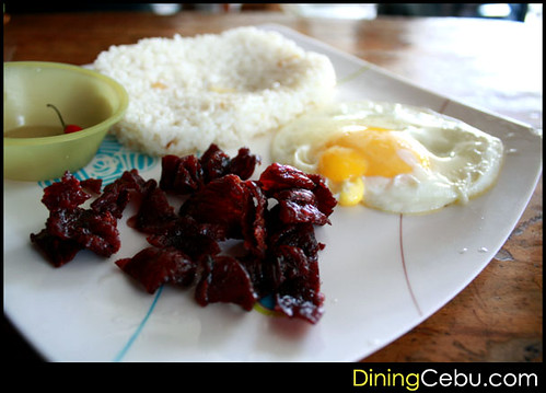 Filipino Restaurant in Cebu - Sugbo Silog: Beef Tapa