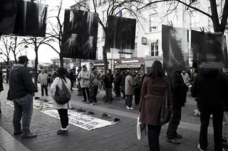 homenaje a las víctimas del conflicto social y...
