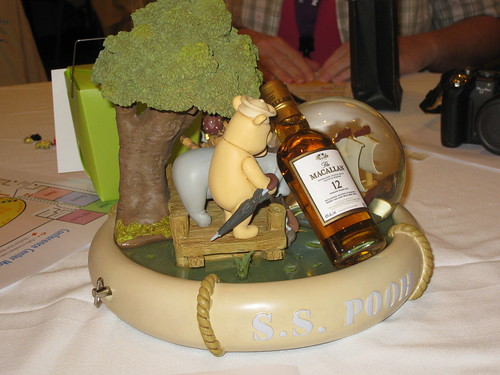 Winnie the Pooh wouldnt drink Scotch!  It has no honey in it!