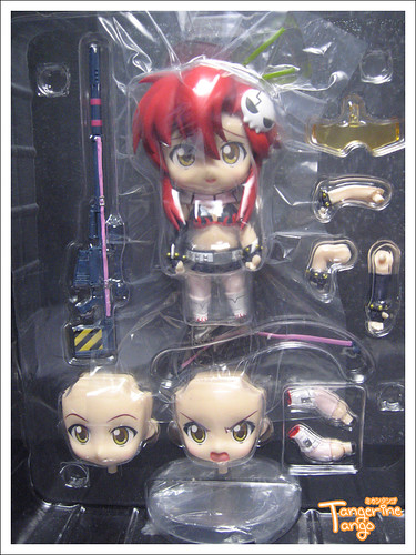 Nendoroid Yoko set contents