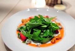 Arugula and Hydro-Cress Salad