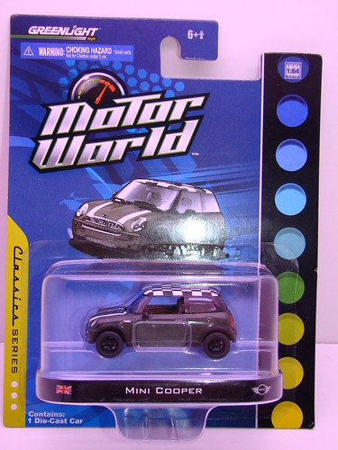 greenlight motorworld mini cooper (1)