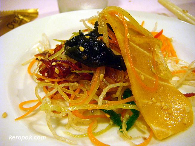 Prosperity Vegetarian Yu Sheng