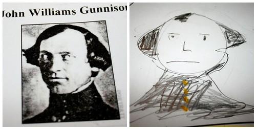 John Gunnison Portraits