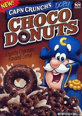Cap'n Crunch Choco Donuts