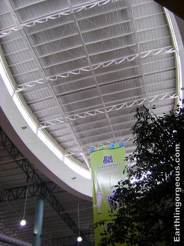 SM Fairview Annex 1 ceiling