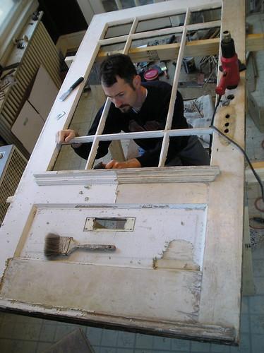 Door restoration project