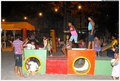 Mini-área de lazer da Praça Norma Coelho (Jardim Fragoso). Foto: Passarinho/Pref.Olinda