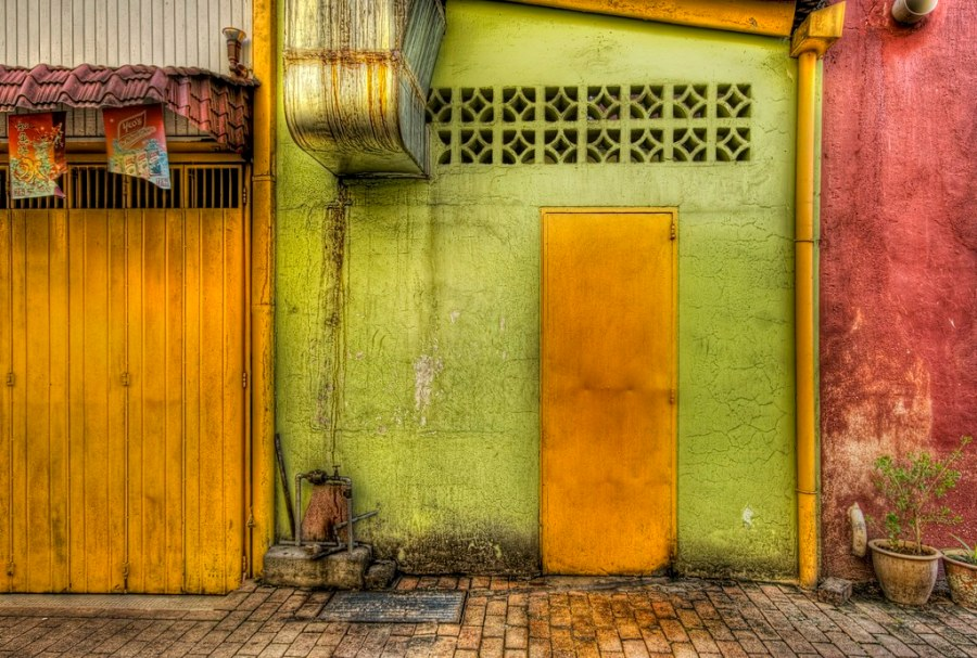 The door in the back alleys of southern Malaysia (by Stuck in Customs)