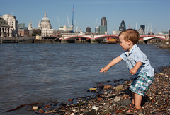 The simple pleasure of throwing stones in the ...
