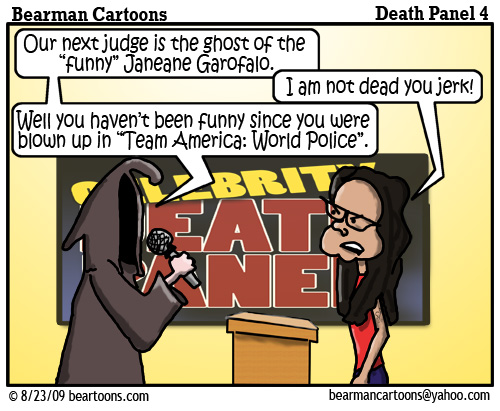 8 17 09 Bearman Cartoon DeathPanel4 copy