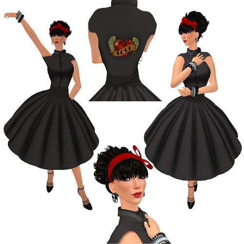 Aisling Rockabilly Outfit Composite - Click picture for full outfit details