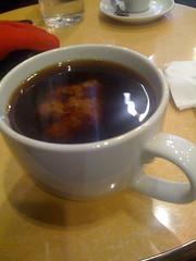 coffee + soy milk