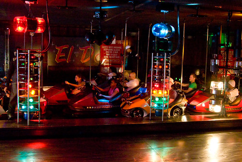 Coney Islands Eldorado Bumper Cars. Photo © Barry Yanowitz via flickr