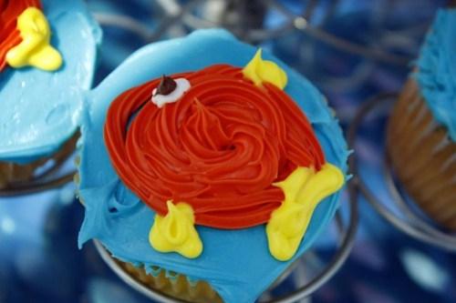 Tara's fish cupcakes