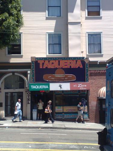 Taqueria El Zorro - Best burritos in North Beach
