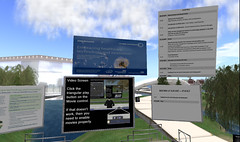 NHS Conference site in Second Life