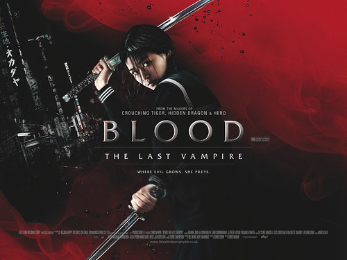 blood the last vampire poster by you.