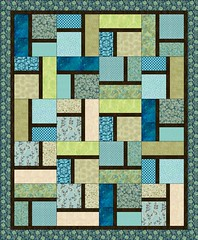 Pauline's Quilt by Sandi Walton at Piecemeal Quilts