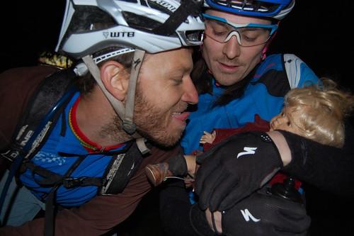 Jordy, Harlan, and Trashy 1 legged baby doll. A wonderful family!