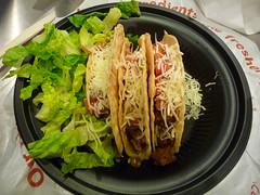 3 tacos at Qdoba