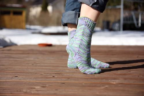 Roof Ridge Socks