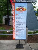 Cedar Point - Magnum XL 200 Anniversary Banner
