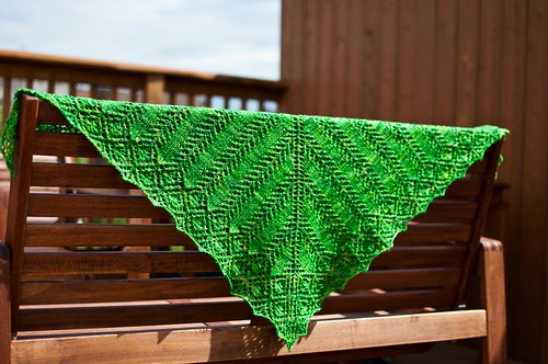 Clothilde Shawl - FINISHED