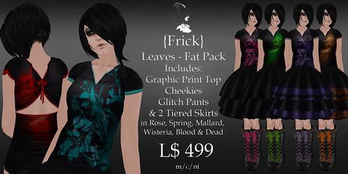 Frick - Leaves - Dress Fat Pack Ad