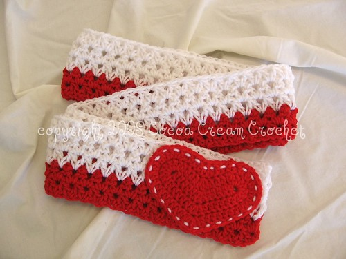 Love Letter Scarf w/ red heart