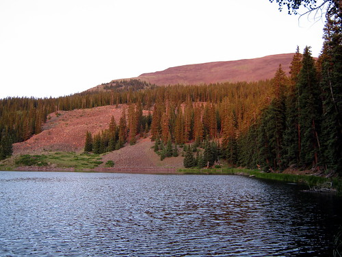 Waterdog Lake at Sunset