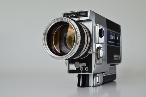 Argus/Cosina Model 708 Super Eight Movie by go_offstation, on Flickr