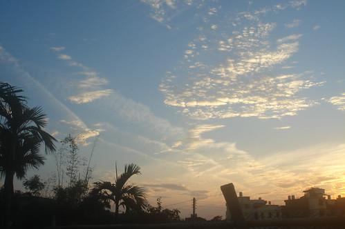 黃昏夕陽 2