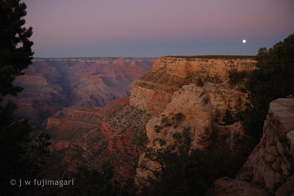 Grand Canyon Moonrise