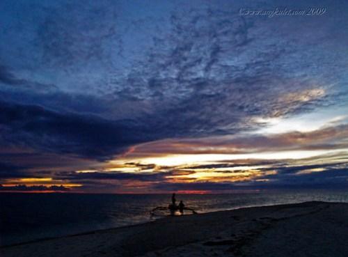Setting Sun at White Island